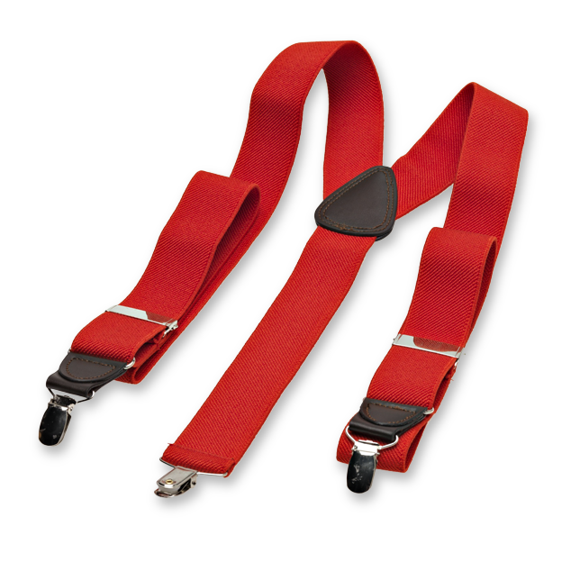 Red Braces for Men (2)