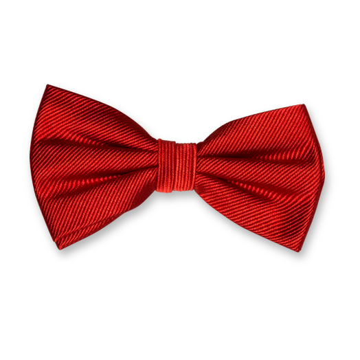 Red Bow Tie - Silk (1)